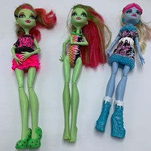 """High Monster Dolls, 2008, 11"""" tall, Mattel - 03"""